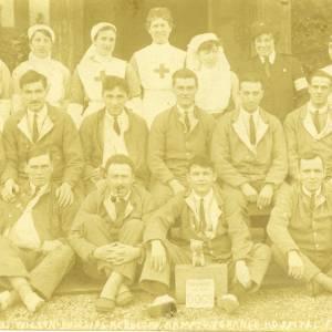 Hampton Grange Hospital, 23rd February 1918