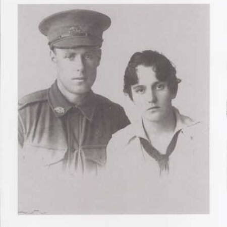 Private Edwin Powell and Sylvia