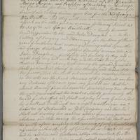Indenture between John Douglas, surgeon apothecary and George Weatherill
