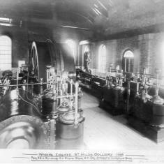 St Hilda Colliery, Winding Engines