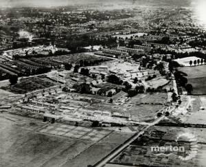 Aerial  View Morden