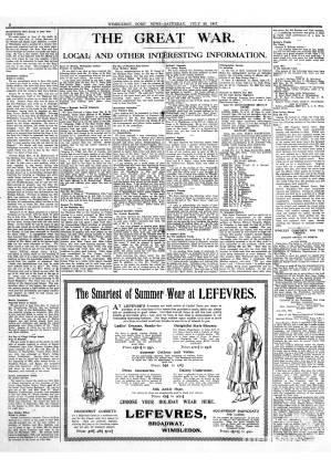 28 JULY 1917