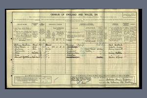 1911 Census - 124 Robinson Road, Tooting
