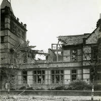 Boys Secondary School, Balliol Road, bomb damage, Blitz