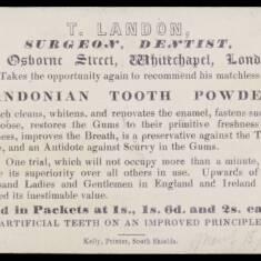 T Landon, Surgeon, Dentist