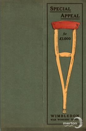 Special Appeal Card - Wimbledon War Workers' Depot
