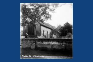 East end of St. Mary's Church, Merton Park