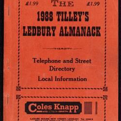Tilley's Ledbury Almanack 1988