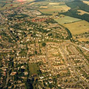 Li149800 Aerial photo of Ross-On-Wye 1989.jpg