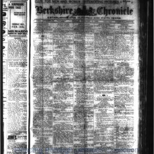 Berkshire Chronicle Reading 02-1920