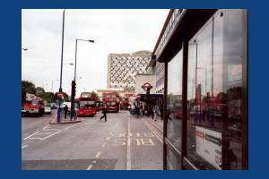 London Road, Morden: Near tube station