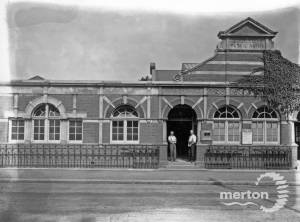 Wimbledon Public Baths, Latimer Road