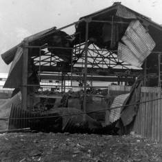 Bomb Damage to Anglo Foundry