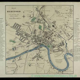 Plan of Hereford (1900) by E G Davies.jpg