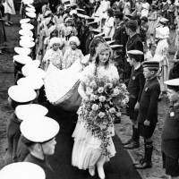 Crowning Ceremony of the May Queen, Bootle, 1932