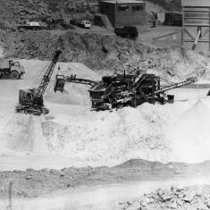 Working at Marsden Quarry