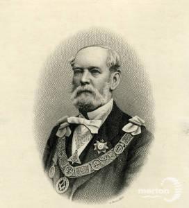 General J S Brownrigg CB, Provincial grandmaster, Surrey