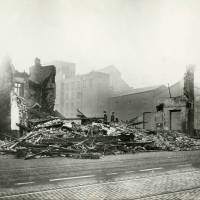 Costigans, bomb damage, Blitz