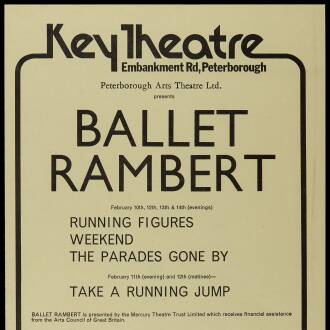 Key Theatre, Peterborough, February 1976