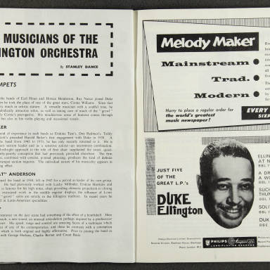 Duke Ellington Orchestra British Tour – October 1958 007