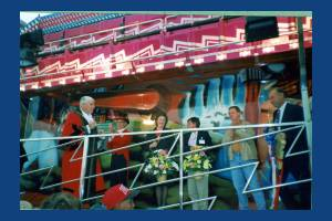 Opening ceremony Mitcham Fair
