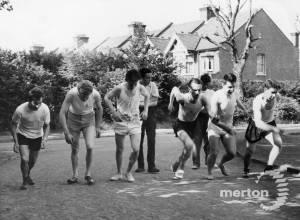 Methodist Church Sports, Mitcham:  News of the World Track