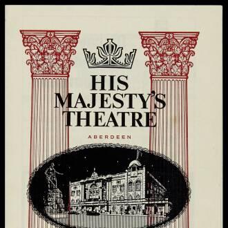 His Majesty's Theatre, Aberdeen, November 1965