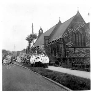 St Mark's Church Grenoside Whit Monday 1955