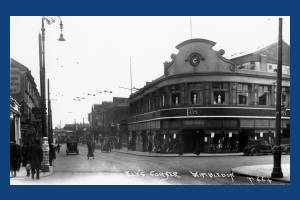 Wimbledon Hill Road, corner with Worple Road, Wimbledon: Ely's