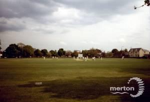 Cricket Match, Cricket Green, Mitcham