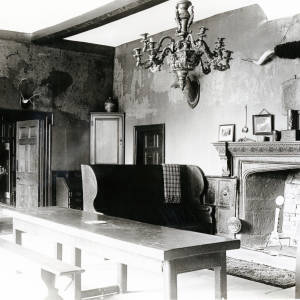 Brockhampton, Fawley Court interior hall, 1918