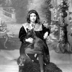 G36-135-14 Portrait of girl with two dogs.jpg