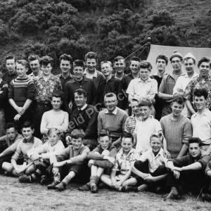 Ecclesfield Grammar School Camping expedition to Hawick c1960