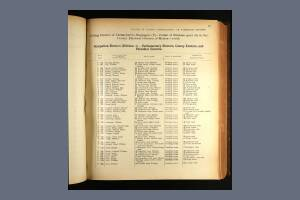 1913 Electoral Register - 95 Lyvedon Road, Mitcham
