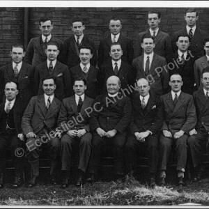 Mortomley St Saviour's Church  Young Men's Club, 1931