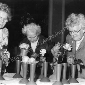 Chapeltown Horticultural  Show, Newton Hall 1980s  a.