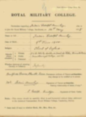 RMC Form 18A Personal Detail Sheets May & Sept 1918 - page 10