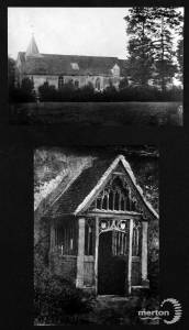 North porch, Parish Church, Merton Park