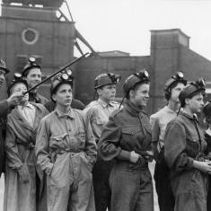 German Boys and Girls at Harton Colliery