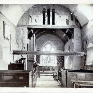 Lyde Church, interior
