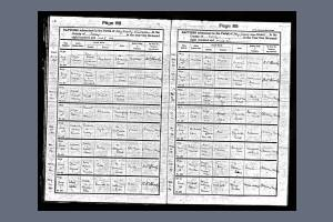 Baptism Record - John Alfred Eales