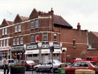 London Road, Mitcham:  By Langdale Avenue