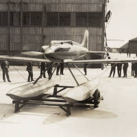 'Golden Arrow' Gloster VI seaplane: Napier