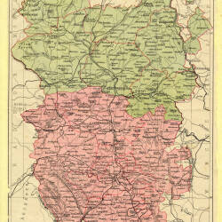 A New Map of the County of Hereford 1801 Herefordshire History