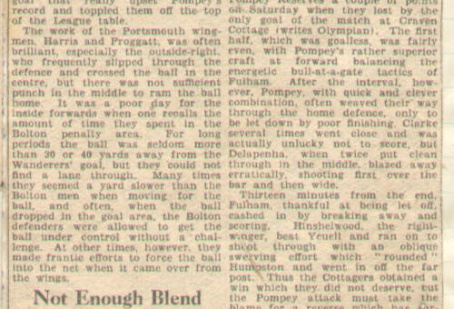 19481101 Evening News Match Report Bolton