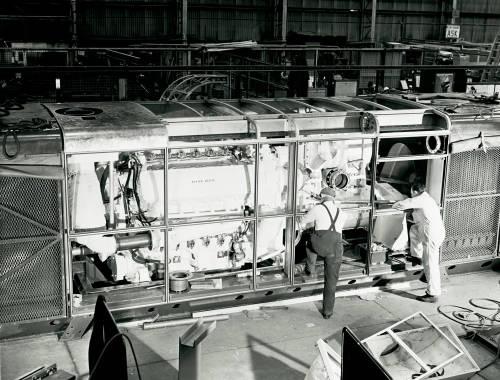 Deltic 18-25M engine: Napier