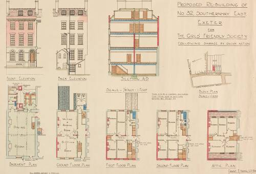 Architectural plans and elevations