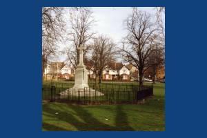 Mitcham War Memorial, Lower Green West