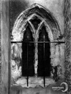 Merton Church, south side window, Merton Park