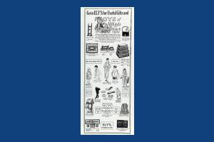 Ely's, Worple Road: Department Store advert